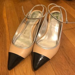 Zara  Classic Block Heeled Shoes